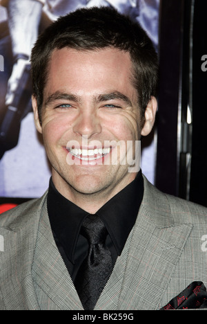 CHRIS PINE SMOKIN ACES WORLD PREMIERE GRAUMANS CHINESE HOLLYWOOD LOS ANGELES USA 18 January 2007 - Stock Photo