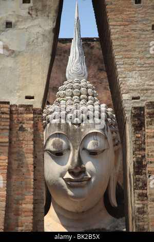 Sukhothai, historical site in Thailand - Stock Photo