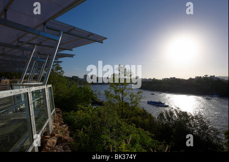 Kangaroo Point Park, Brisbane Australia - Stock Photo