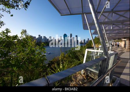 Kangaroo Point Park Brisbane Australia - Stock Photo