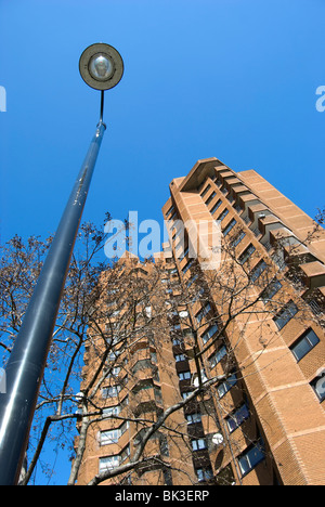 high rise towers of the world's end estate, chelsea, london, england - Stock Photo