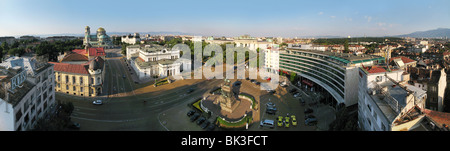 National Assembly square in Sofia, Bulgaria. - Stock Photo