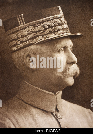 Henri Philippe Benoni Omer Joseph Pétain 1856 – 1951. French general and Marshal of France. - Stock Photo