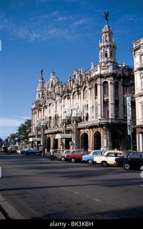 Gran Teatro de la Habana (Grand Theater of Havana), Cuba - Stock Photo