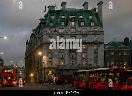 The Ritz Hotel, London, UK - Stock Photo