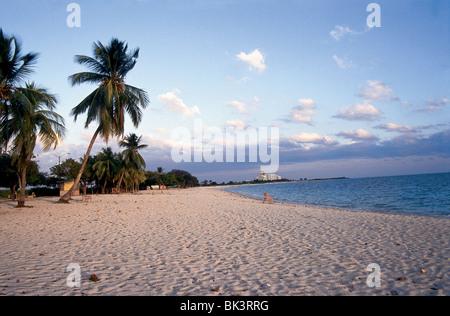 Ancon Hotel and Beach, Trinidad, Cuba - Stock Photo