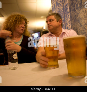 Beer Drinking - Stock Photo