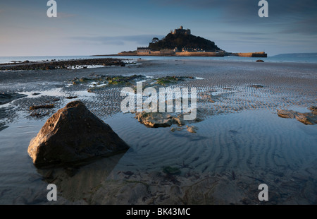 St Michaels Mount Marizion Cornwall UK Devon - Stock Photo