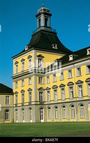 Main Building at the University of Bonn, Germany - Rheinische Friedrich-Wilhelms-Universität Bonn (former residence - Stock Photo