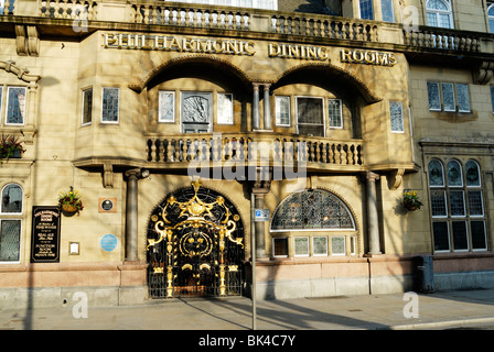 Philharmonic Pub and Dining Rooms in Hope Street  Liverpool    Stock Photo. Art Nouveau Style Gates Of The Philharmonic Pub  Hope Street Stock
