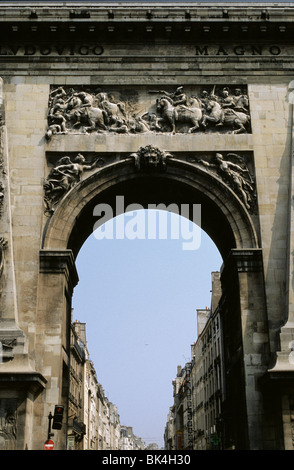 Porte St. Denis, Paris, France