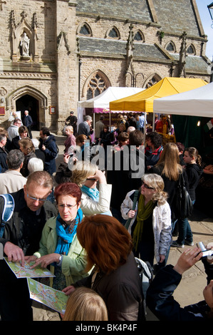 durham County Durham tourist tourists tourism visitor visitors visting uk england history historic city cities town - Stock Photo