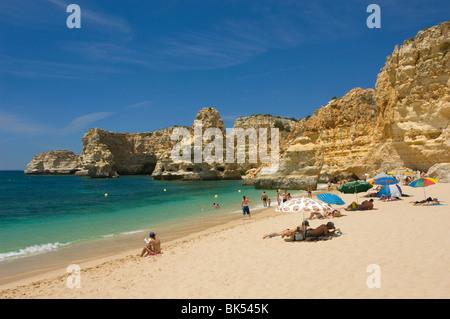 Portugal, The Algarve, Praia Da Marinha, Near Armacao De Pera - Stock Photo