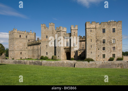 Raby Castle, Staindrop, County Durham, England, United Kingdom, Europe - Stock Photo