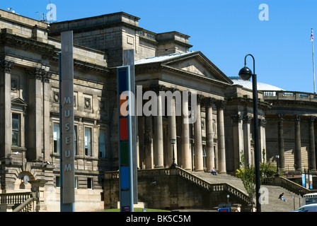The World Museum, part of Liverpool's museum complex, Liverpool, Merseyside, England, United Kingdom, Europe - Stock Photo