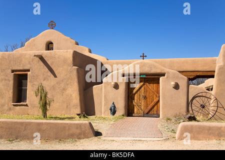 Holy Trinity Monastery in St. David, Benson City, Cochise County, Arizona, United States of America, North America - Stock Photo