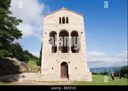 Santa Maria de Naranco, 9th century pre-romanesque style, UNESCO World Heritage Site, Oviedo, Spain, Europe - Stock Photo