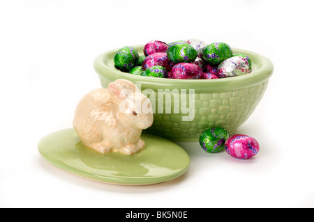easter items - Stock Photo