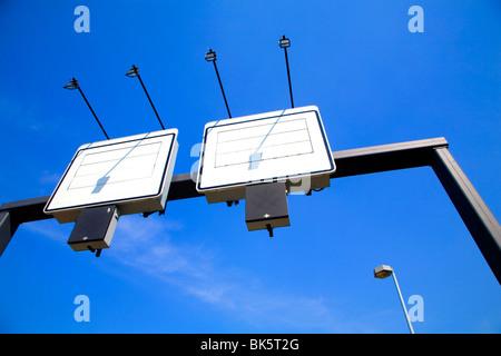 Motorway Sign - Stock Photo