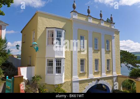 Portmeirion, Gwynedd, 'North Wales' - Stock Photo