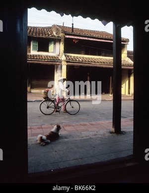 Street in Hoi An, Vietnam, Indochina, Southeast Asia, Asia - Stock Photo