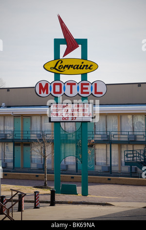 Lorraine Motel where King was assassinated is now National Civil Rights Museum, Memphis, Tennessee