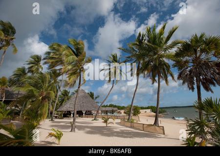 Manda Bay Resort, Kenya, Africa - Stock Photo
