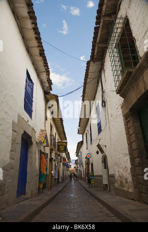 Gringo Alley Near The Plaza De Armas In Cusco, Peru - Stock Photo