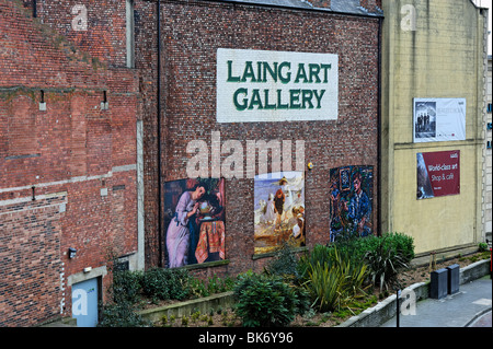 Laing Art Gallery Newcastle-upon-Tyne - Stock Photo
