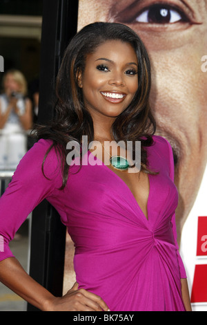 GABRIELLE UNION MEET DAVE LOS ANGELES PREMIERE WESTWOOD LOS ANGELES USA 09 July 2008 - Stock Photo