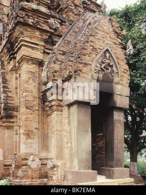 Po Nagar, Cham Temple, Nha Thrang, Vietnam, Indochina, Southeast Asia, Asia - Stock Photo