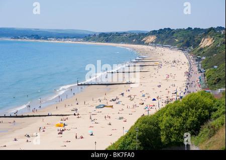 Bournemouth beach - Stock Photo