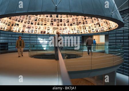 Holocaust Museum, Yad Vashem, Jerusalem, Israel, Middle East - Stock Photo