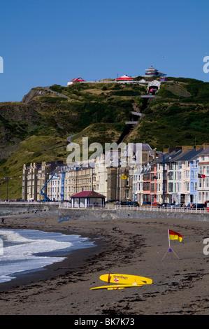 Constitution Hill, Aberystwyth, Ceredigion, Wales, United Kingdom, Europe - Stock Photo