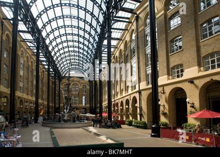 England London Hays Galleria arcade - Stock Photo