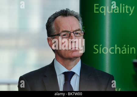 Gerry Kelly, Sinn Fein MLA for North Belfast, and Junior Minister in the Northern Ireland Assembly - Stock Photo
