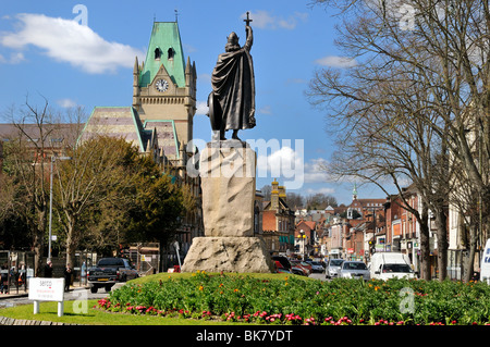 Winchester City centre - Stock Photo
