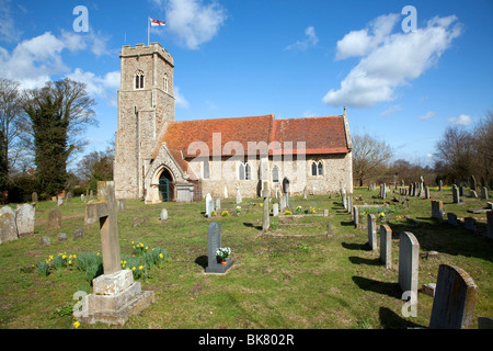 Church of Saint Margaret, Shottisham, Suffolk - Stock Photo