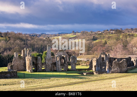 Easby Abbey near Richmond in North Yorkshire, England, UK - Stock Photo