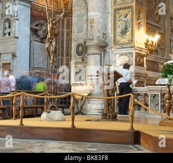 Santa Maria del Popolo, interior - Stock Photo