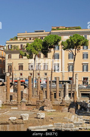Largo di Torre Argentina, Rome, Lazio, Italy, Europe - Stock Photo
