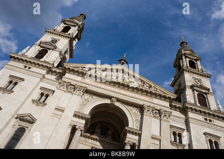 Saint Stephen´s Basilica, Budapest, Hungary, Eastern Europe - Stock Photo