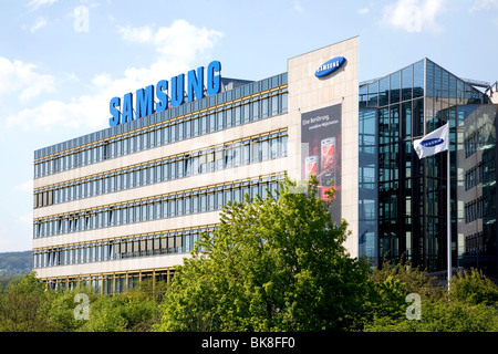 samsung electronics gmbh company headquarters in germany schwalbach stock photo 29076630 alamy. Black Bedroom Furniture Sets. Home Design Ideas