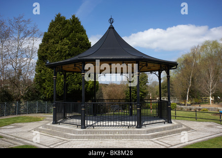 scarva victorian bandstand in village county down northern ireland uk - Stock Photo