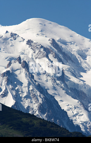 view of the Mont Blanc - Stock Photo