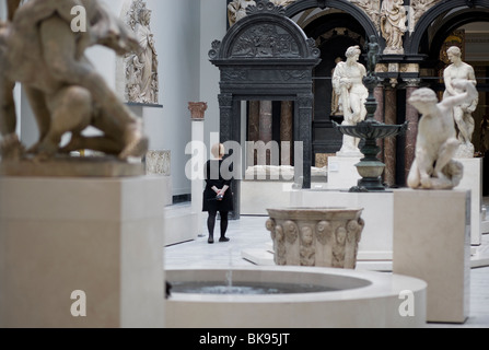 victoria & albert museum, london, england - Stock Photo