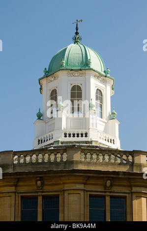 Detail of the Sheldonian Theatre in Oxford UK, a popular venue for calssical music concerts. - Stock Photo