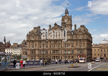 Balmoral Hotel, Edinburgh, Scotland. - Stock Photo