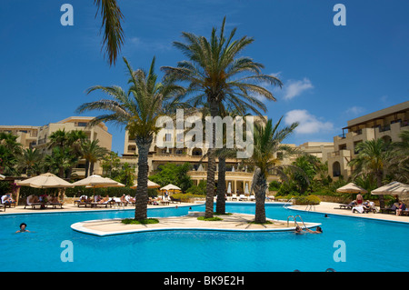 Kempinski Hotel in San Lawrenz on the island of Gozo, Malta, Europe - Stock Photo