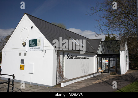 scarva visitor centre and tea rooms in village county down northern ireland uk - Stock Photo
